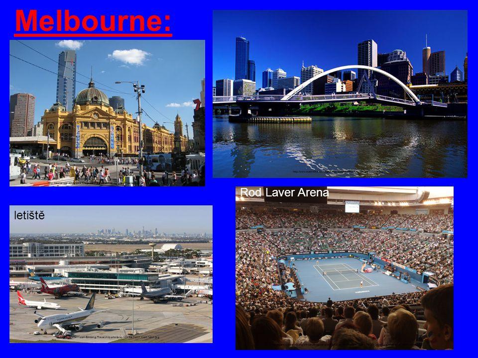 Melbourne: Rod Laver Arena letiště