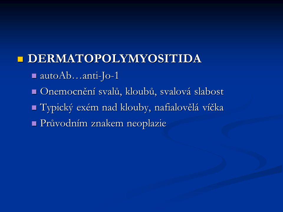 DERMATOPOLYMYOSITIDA