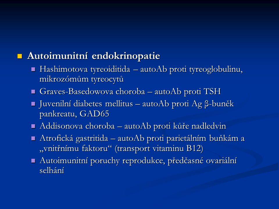 Autoimunitní endokrinopatie