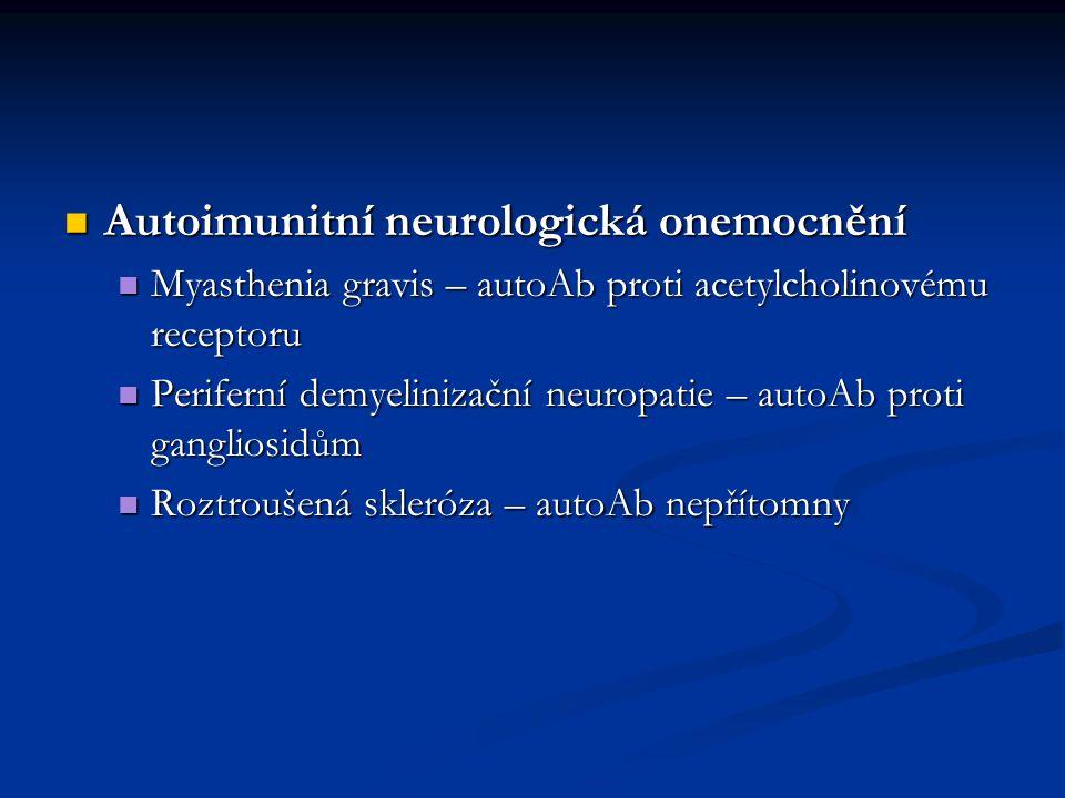Autoimunitní neurologická onemocnění