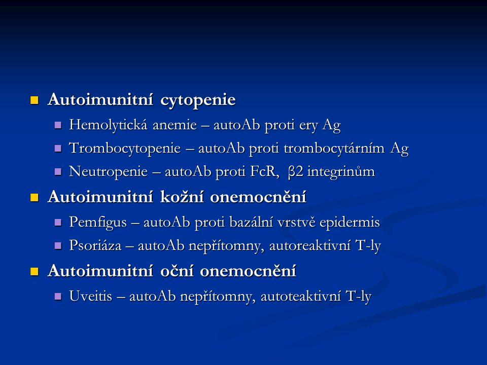 Autoimunitní cytopenie