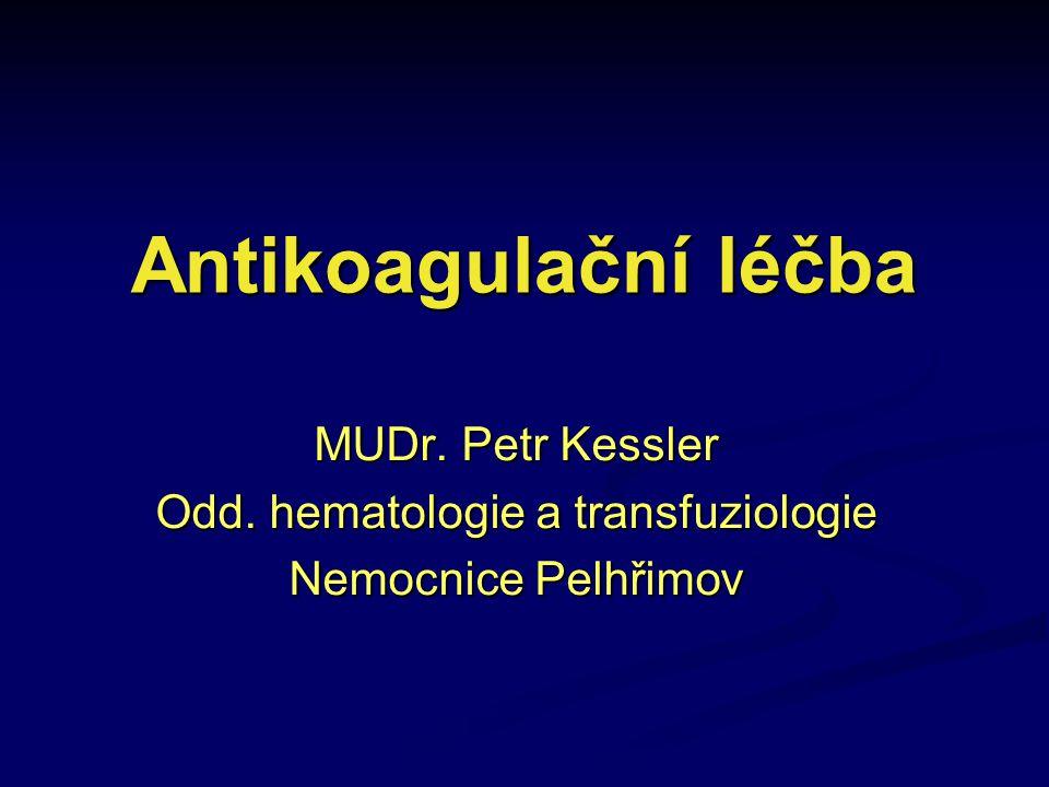 Odd. hematologie a transfuziologie