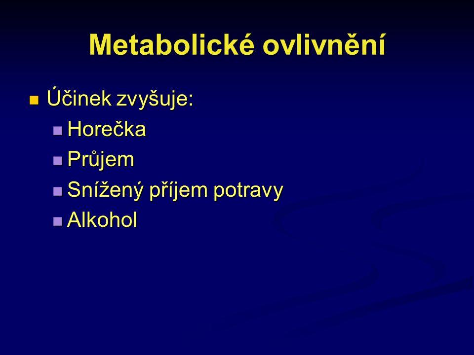 Metabolické ovlivnění