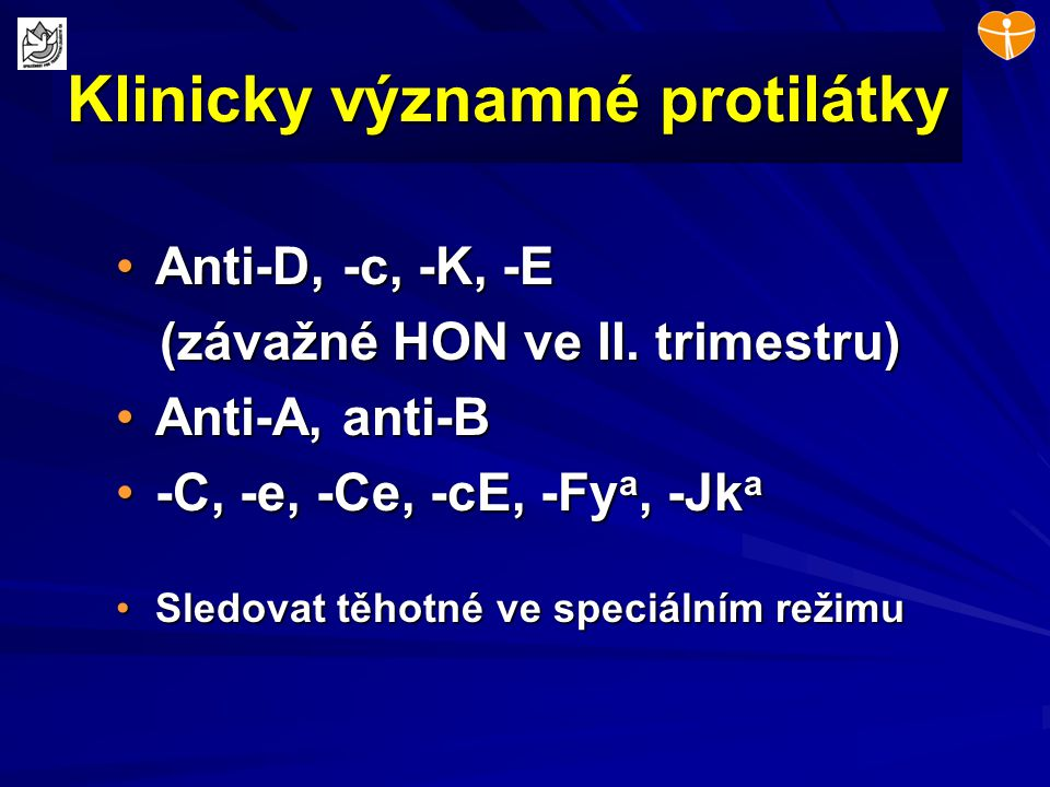 Klinicky významné protilátky
