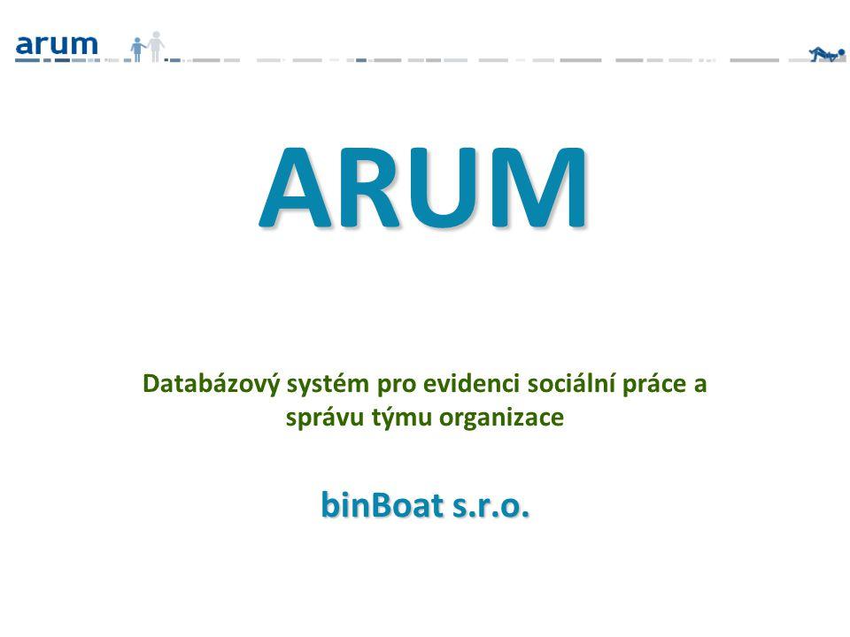 Databázový systém pro evidenci sociální práce a správu týmu organizace