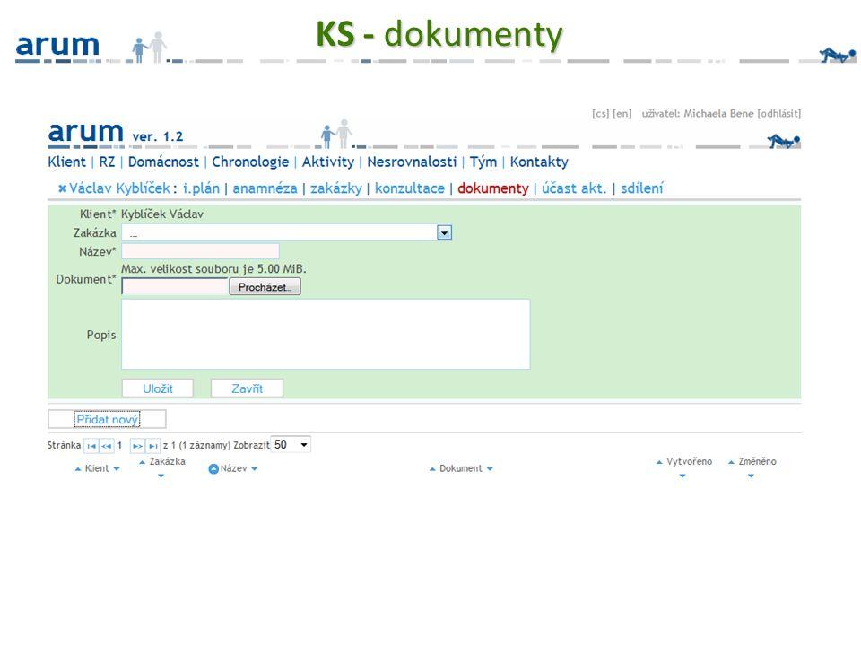 KS - dokumenty