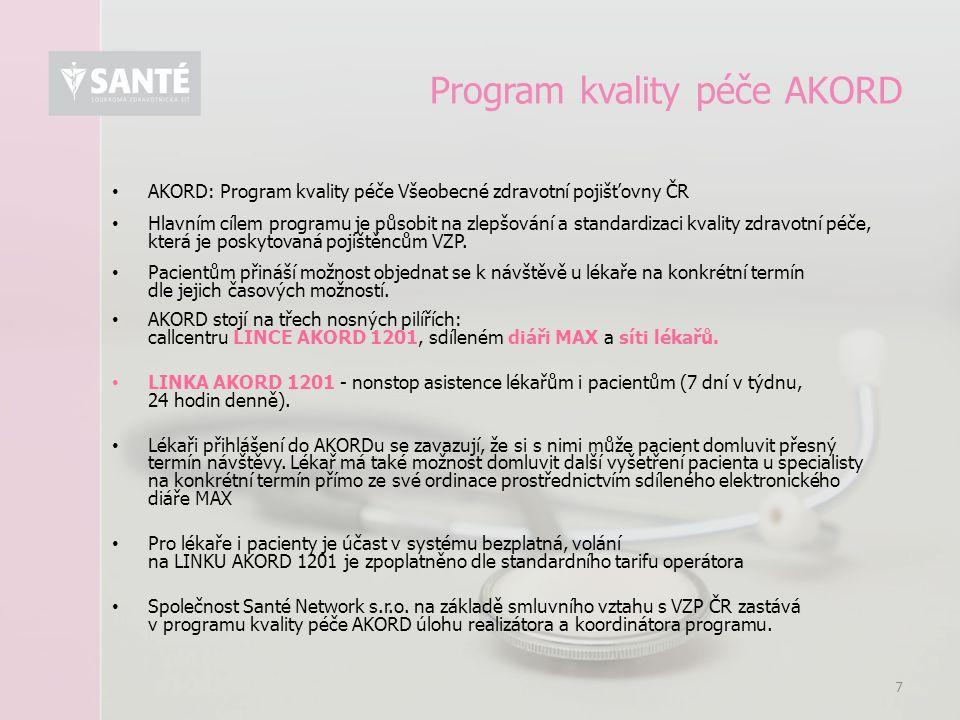 Program kvality péče AKORD