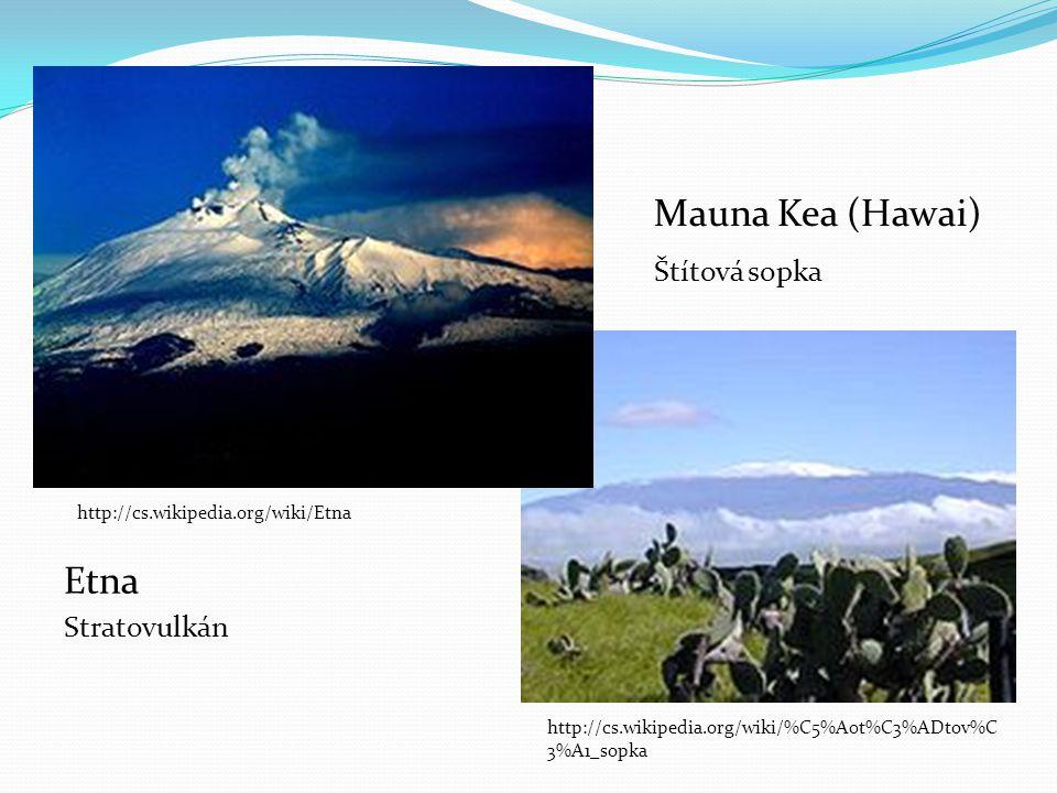 Mauna Kea (Hawai) Štítová sopka