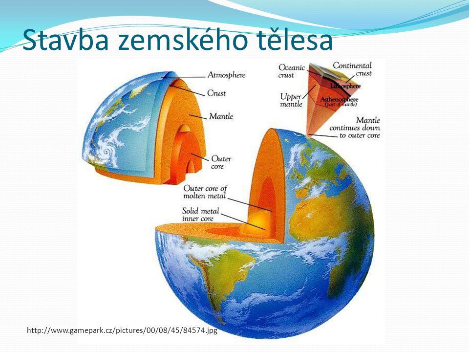 Stavba zemského tělesa