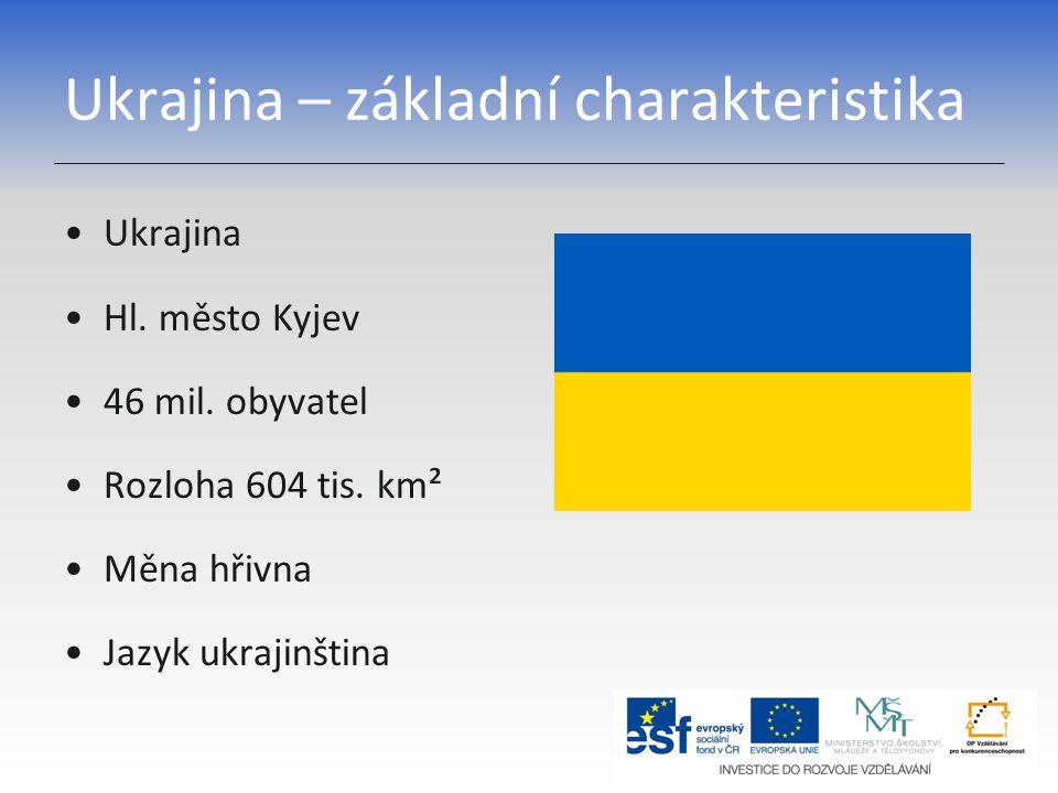Ukrajina – základní charakteristika