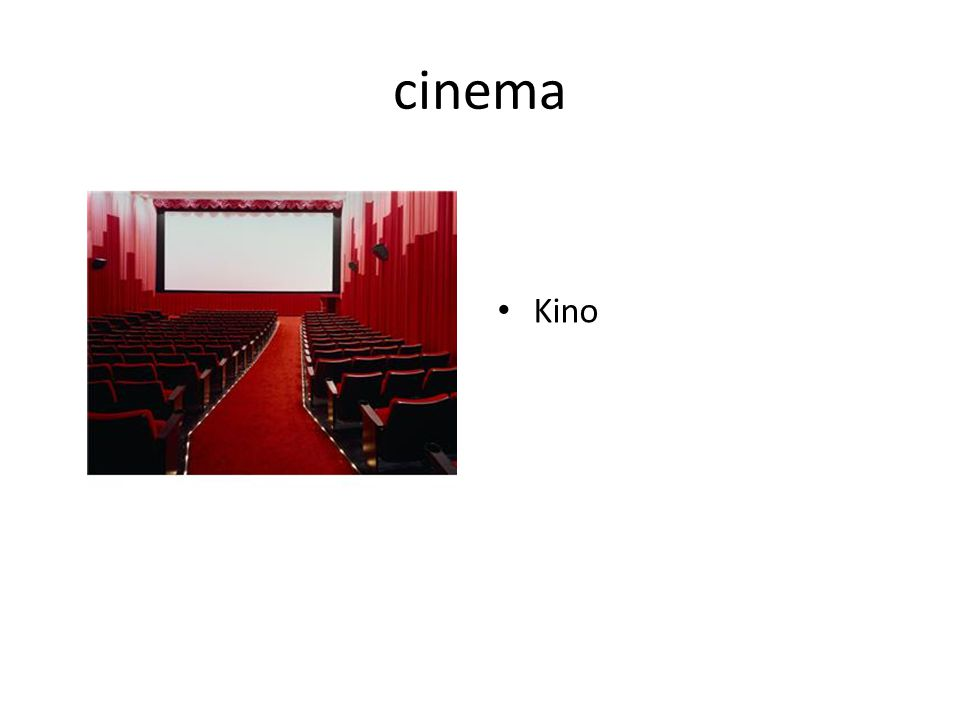 cinema Kino