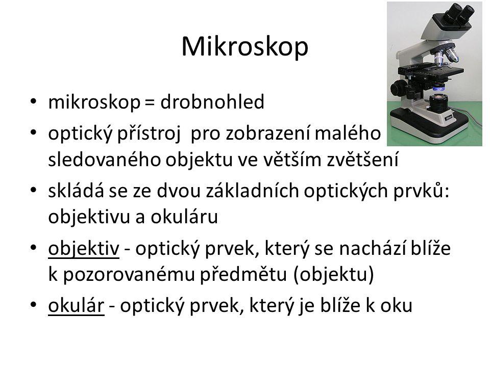 Mikroskop mikroskop = drobnohled