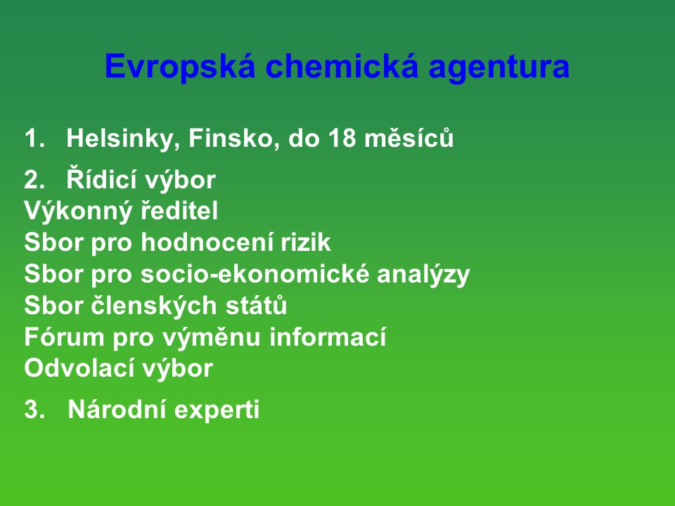 Evropská chemická agentura