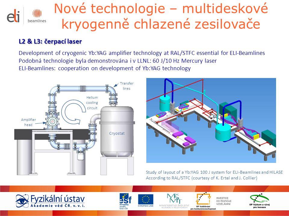 Nové technologie – multideskové kryogenně chlazené zesilovače