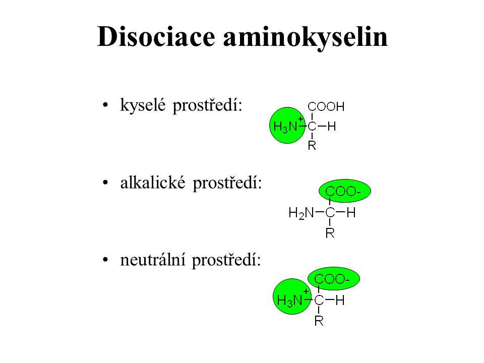 Disociace aminokyselin