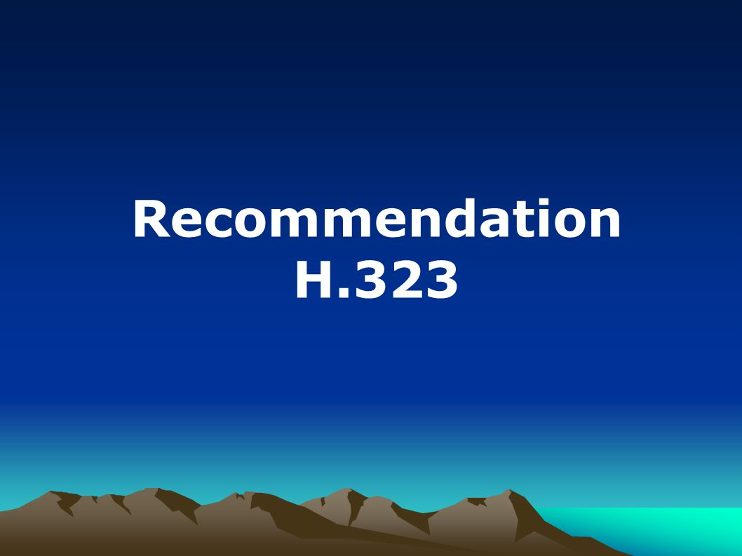 Recommendation H.323