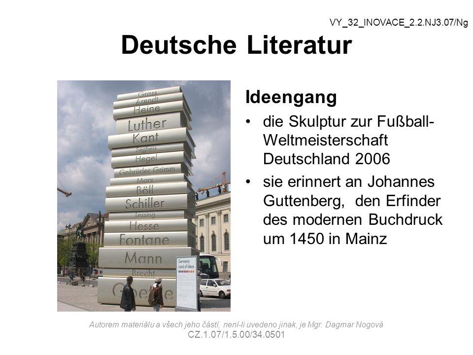 Deutsche Literatur Ideengang