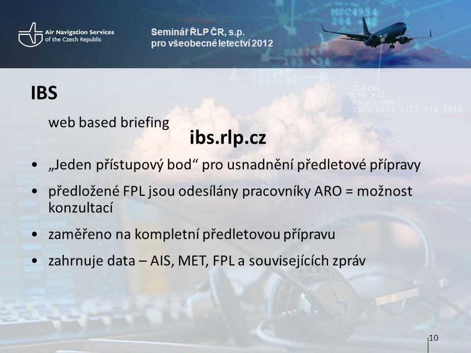 IBS ibs.rlp.cz web based briefing
