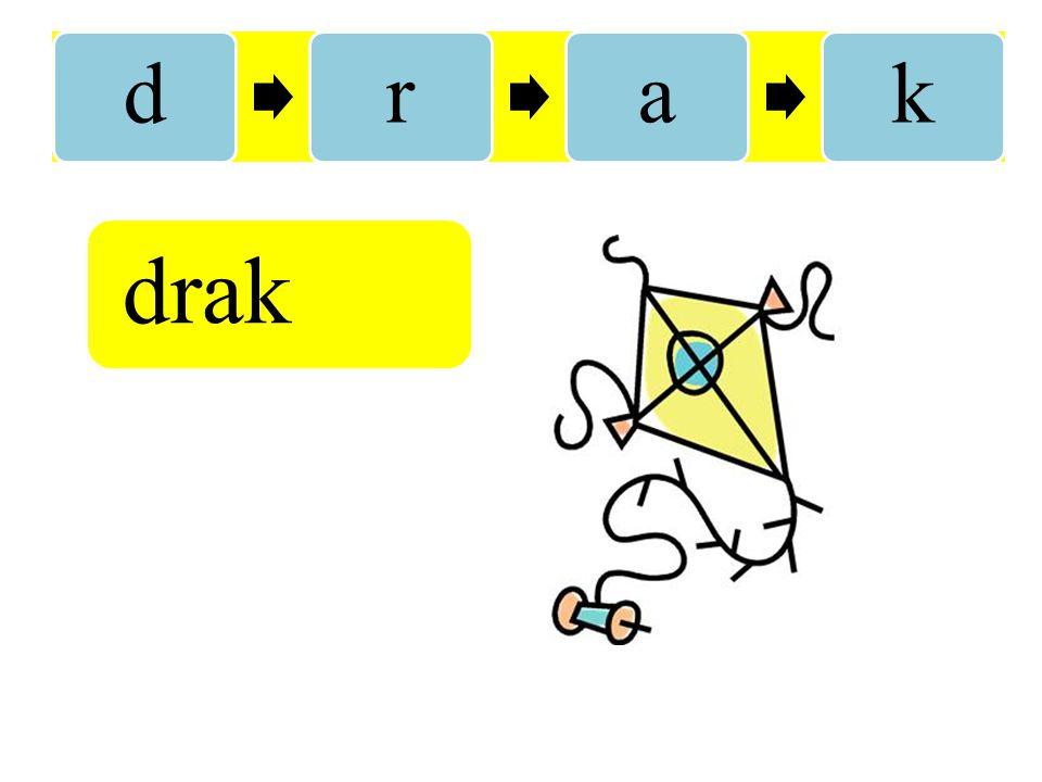 d r a k drak