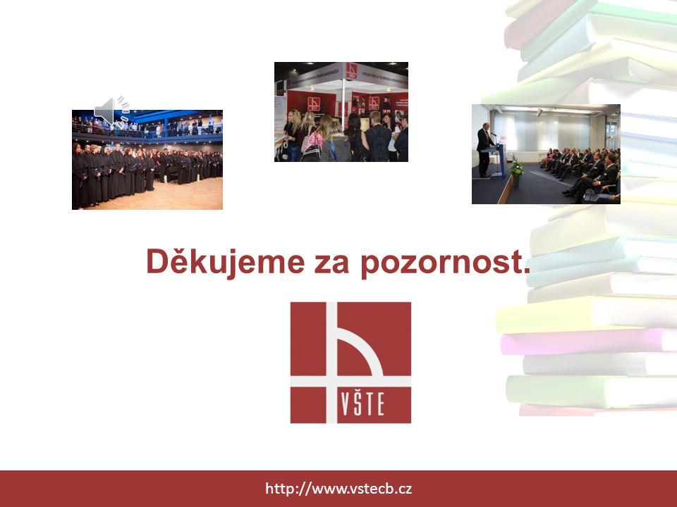 Děkujeme za pozornost. http://www.vstecb.cz