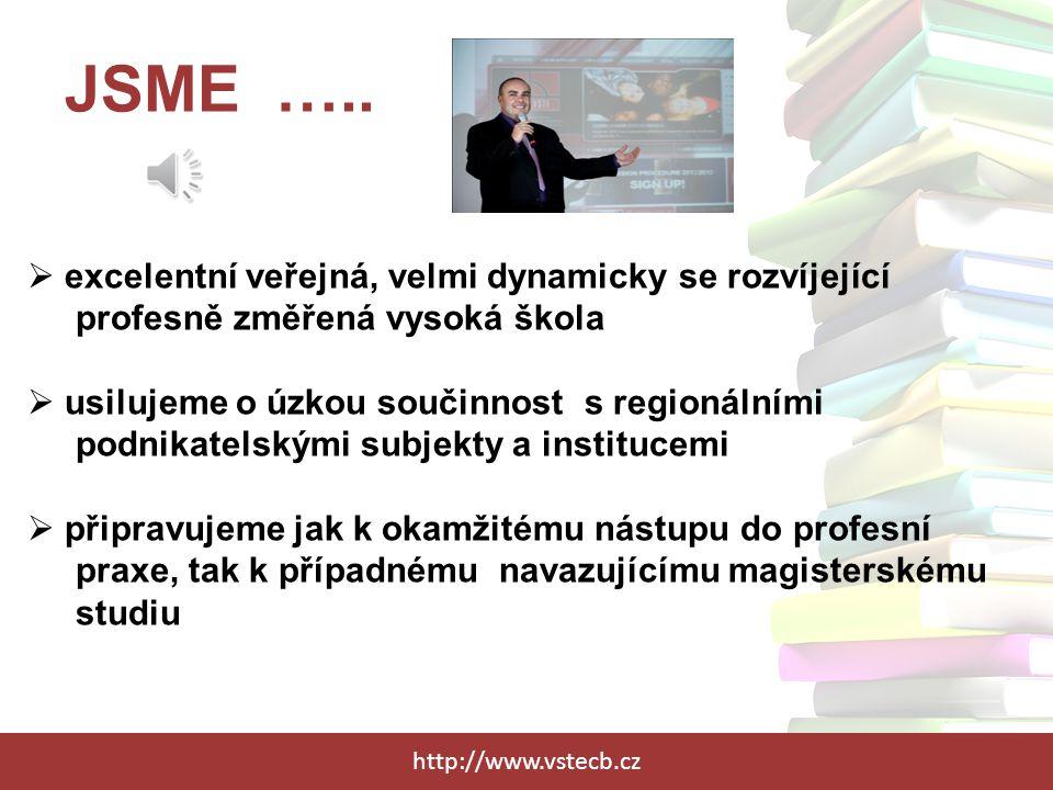 JSME ….. excelentní veřejná, velmi dynamicky se rozvíjející