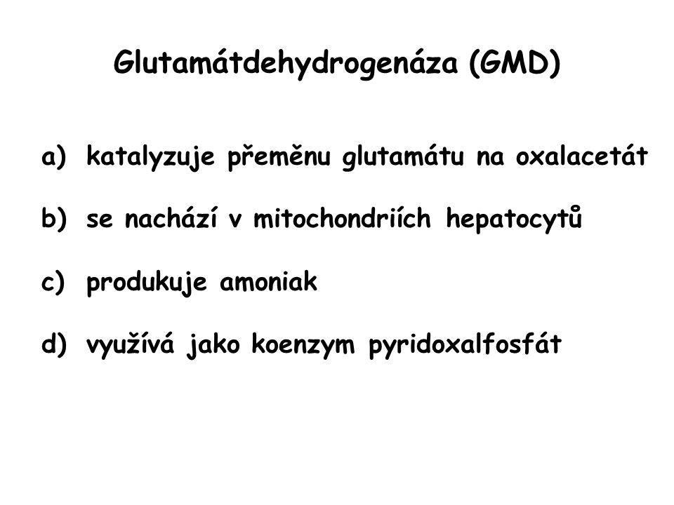 Glutamátdehydrogenáza (GMD)