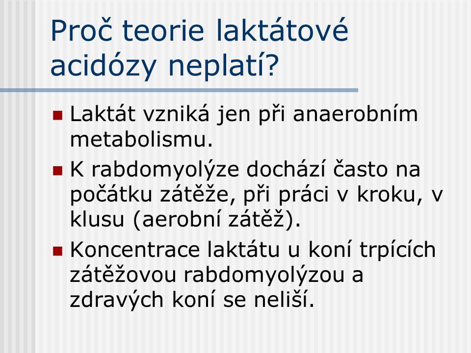 Proč teorie laktátové acidózy neplatí