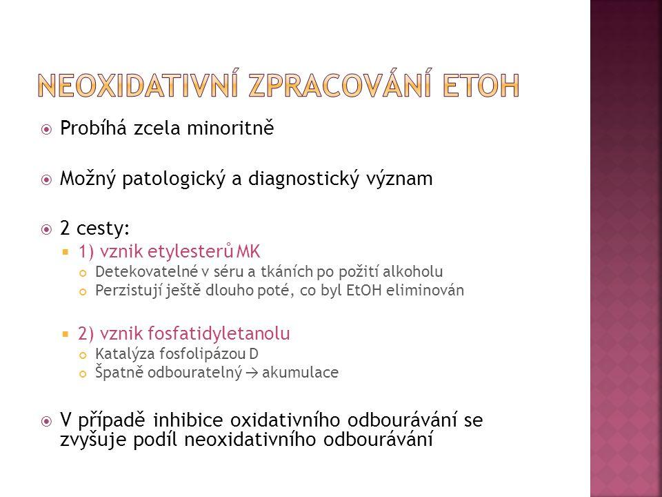 Neoxidativní zpracování etoh