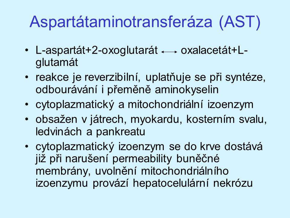 Aspartátaminotransferáza (AST)