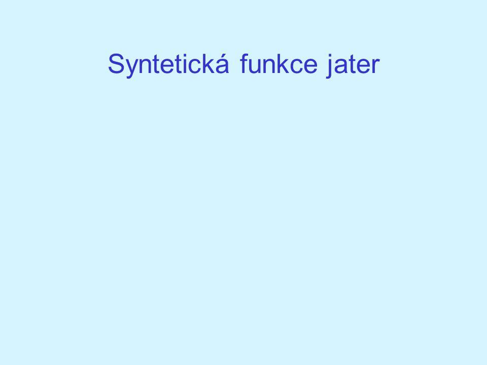 Syntetická funkce jater