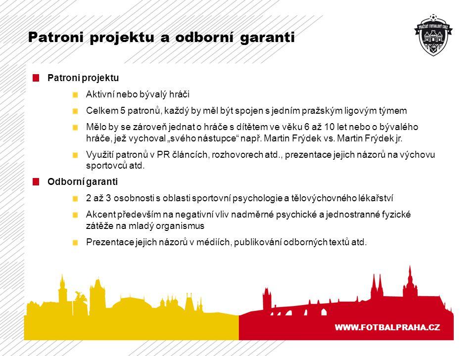 Patroni projektu a odborní garanti