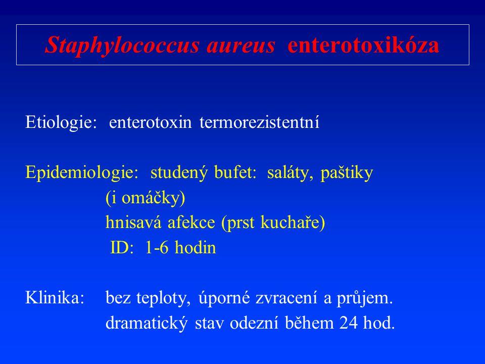 Staphylococcus aureus enterotoxikóza