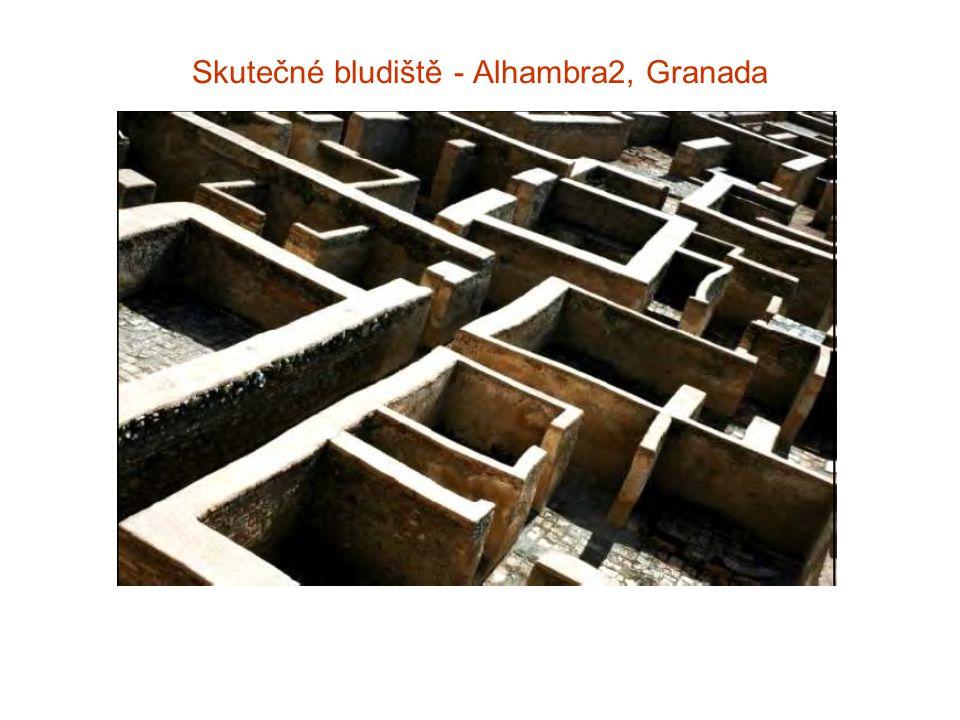Skutečné bludiště - Alhambra2, Granada