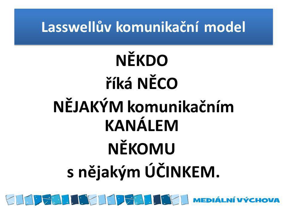 Lasswellův komunikační model