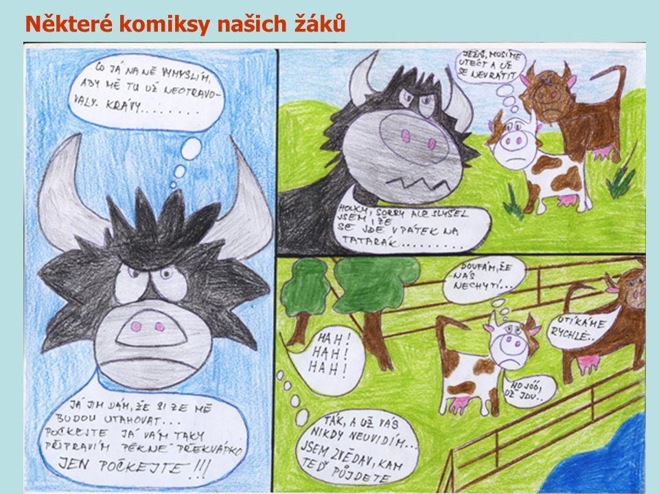 Některé komiksy našich žáků