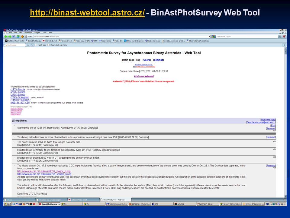 http://binast-webtool.astro.cz/ - BinAstPhotSurvey Web Tool