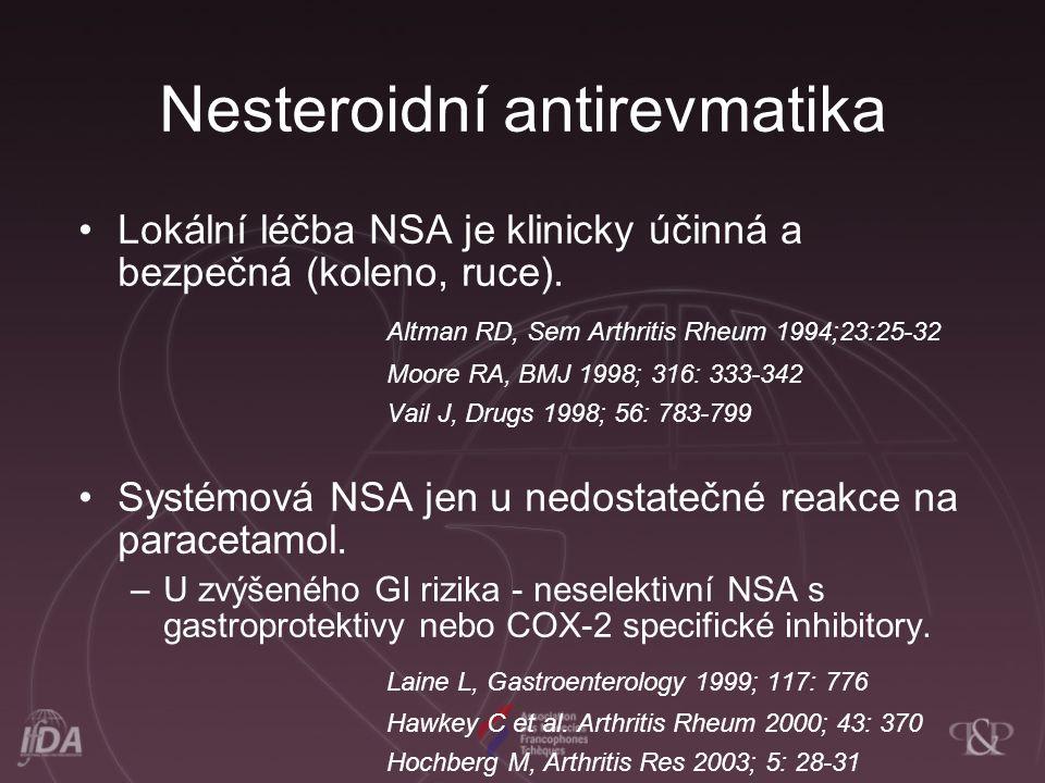Nesteroidní antirevmatika