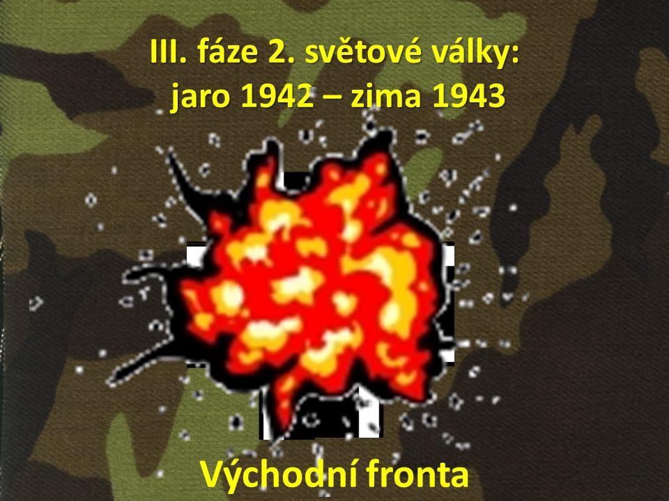III. fáze 2. světové války: