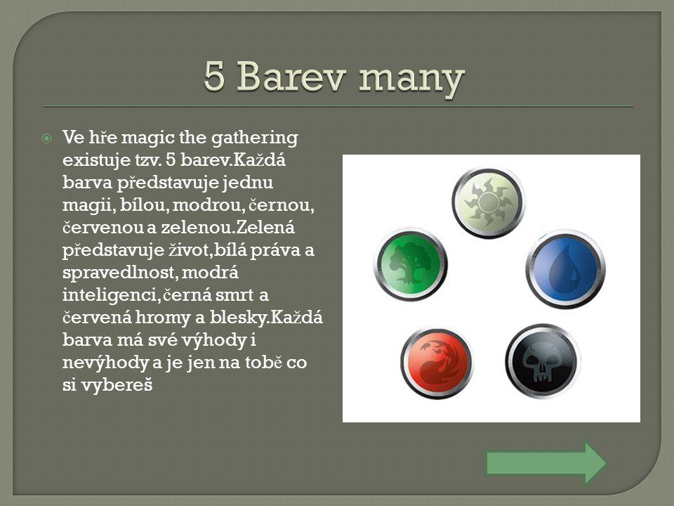 5 Barev many