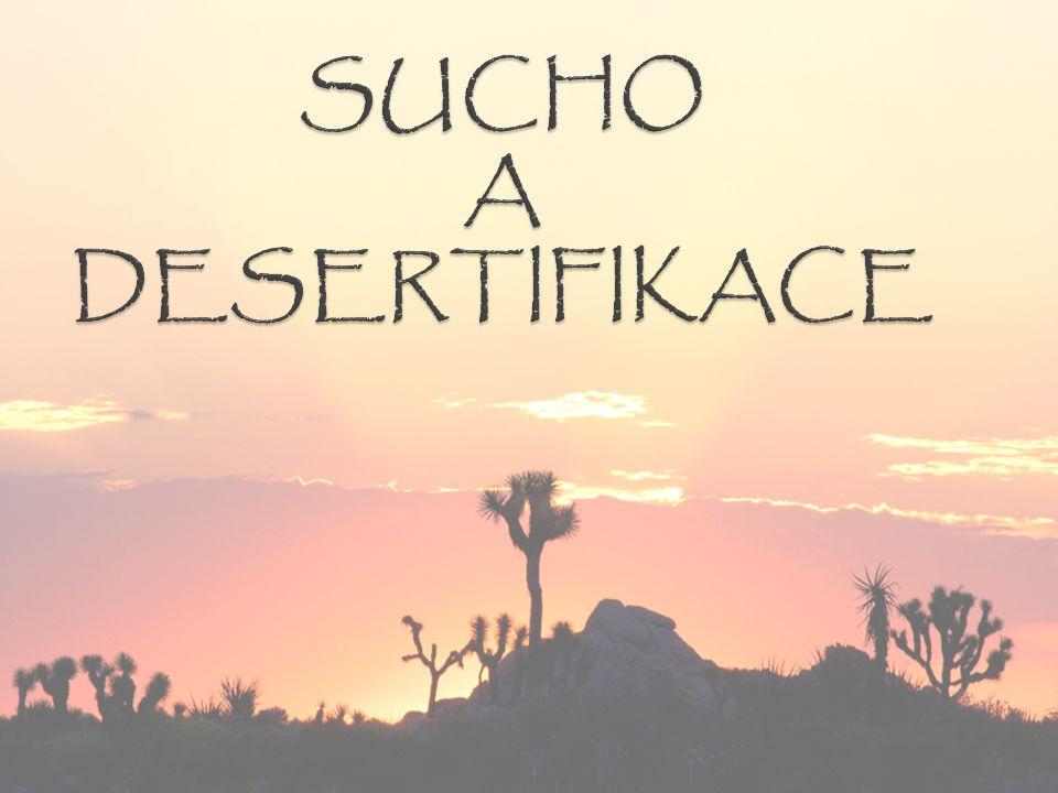 SUCHO A DESERTIFIKACE