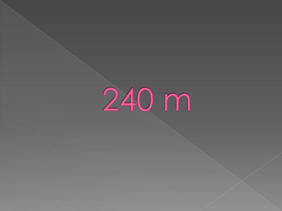 240 m