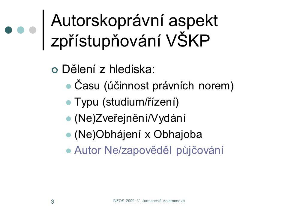 Autorskoprávní aspekt zpřístupňování VŠKP
