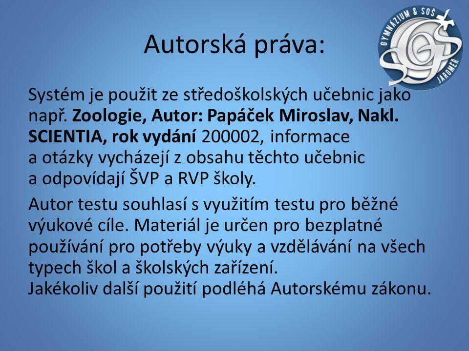 Autorská práva: