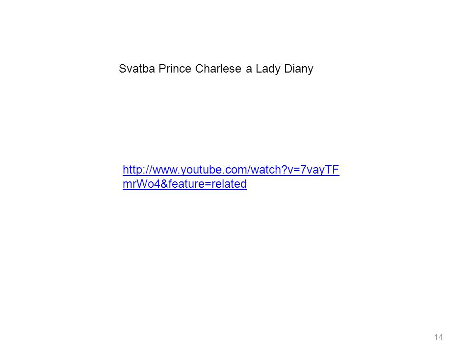 Svatba Prince Charlese a Lady Diany