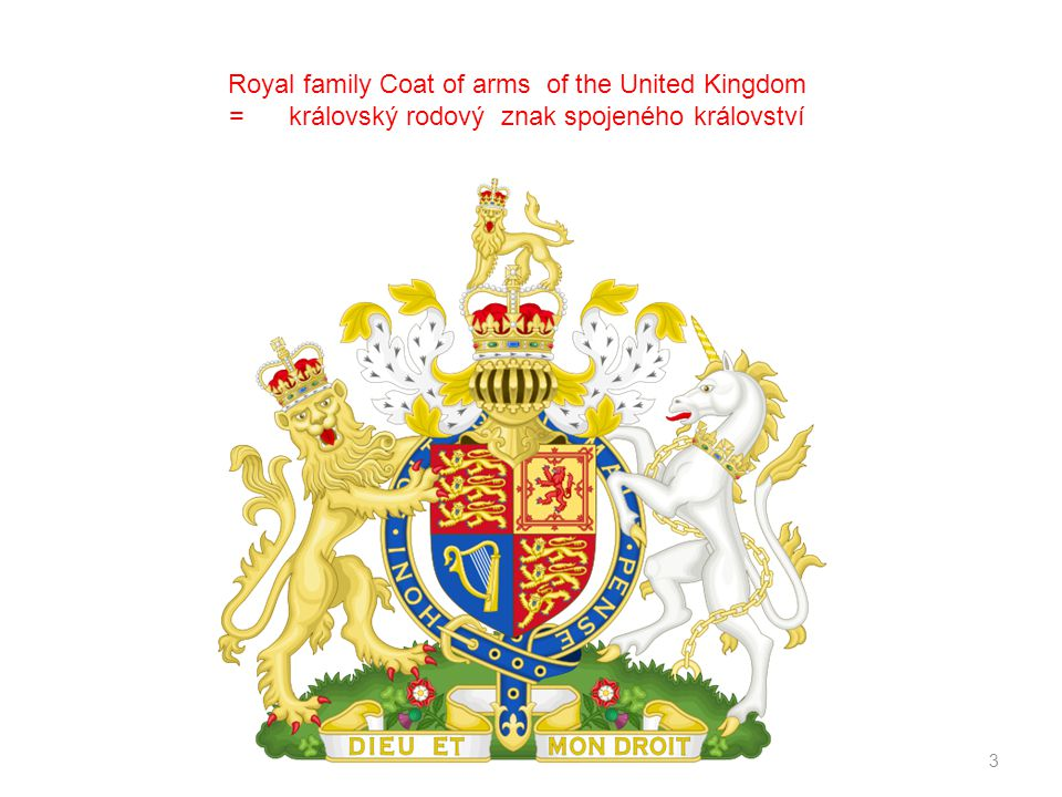 Royal family Coat of arms of the United Kingdom
