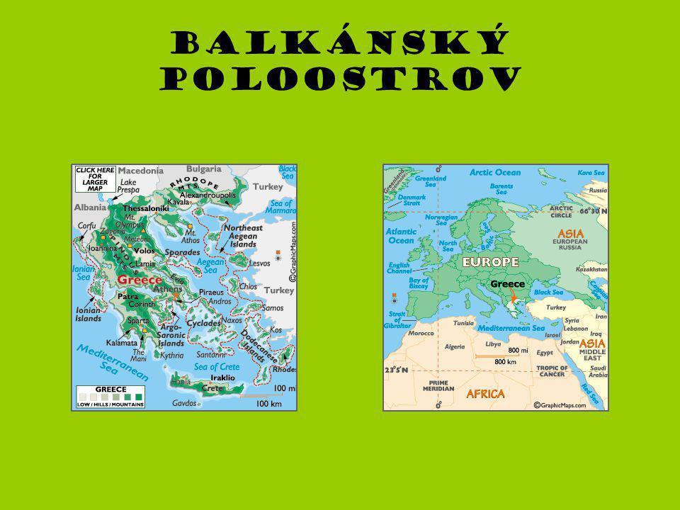 Balkánský poloostrov