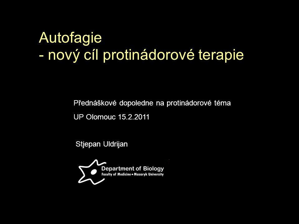 Autofagie - nový cíl protinádorové terapie