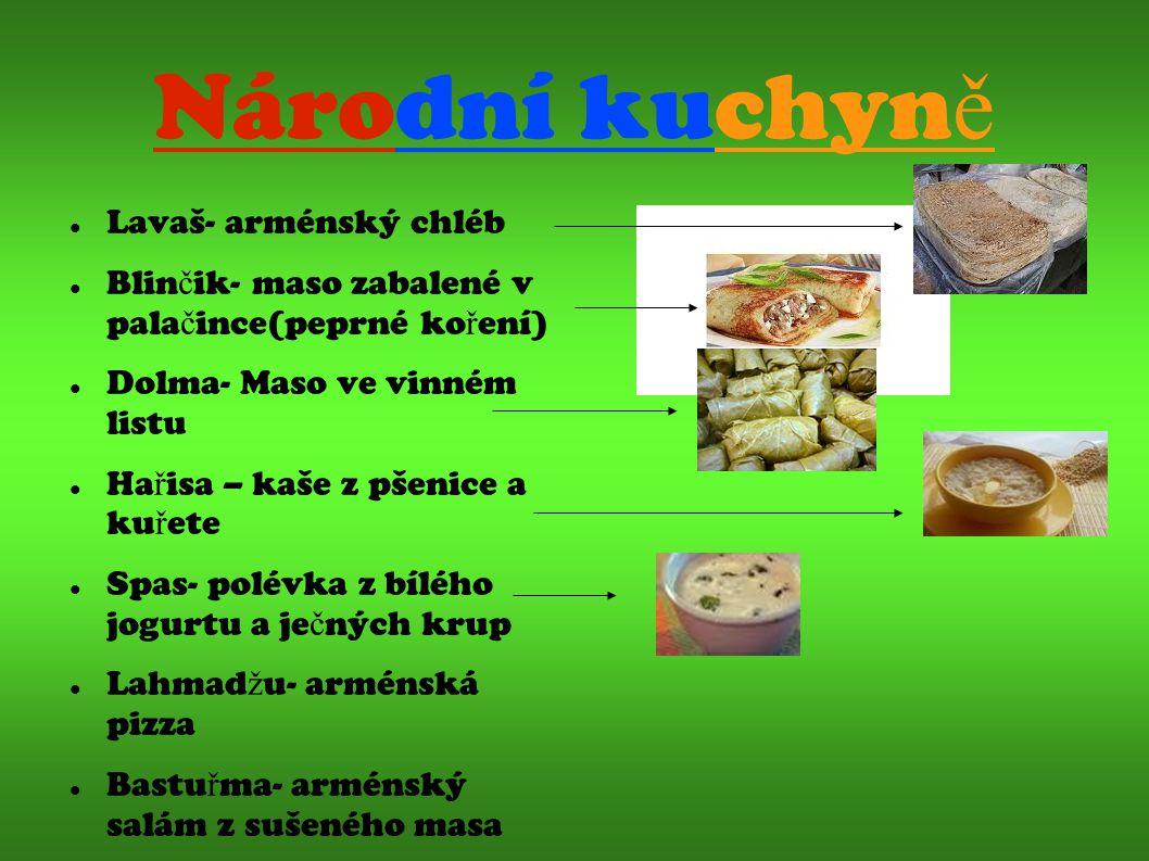 Národní kuchyně Lavaš- arménský chléb