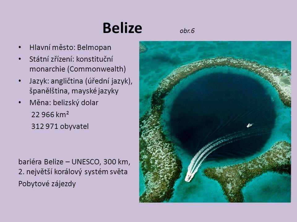 Belize obr.6 Hlavní město: Belmopan