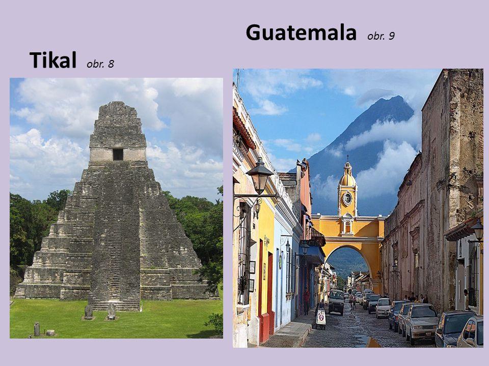Tikal obr. 8 Guatemala obr. 9